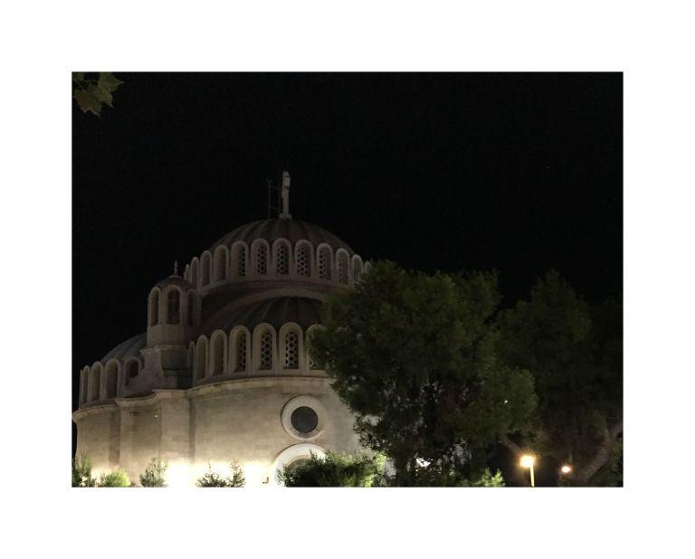 Crkva uveče